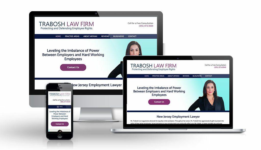 Trabosh Employment Law   Law Firm Website