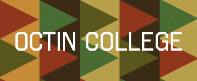 Octin College font