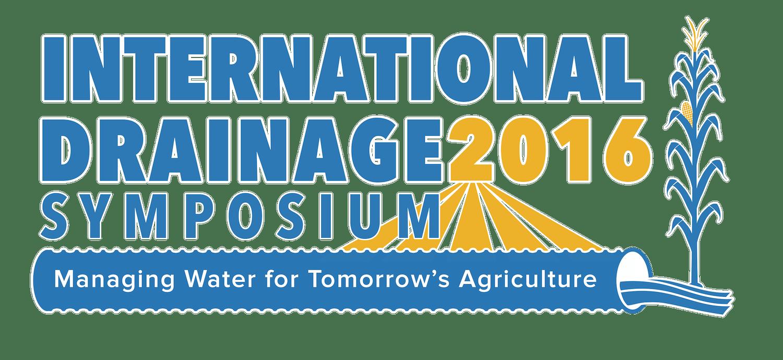 International Drainage Symposium Logo