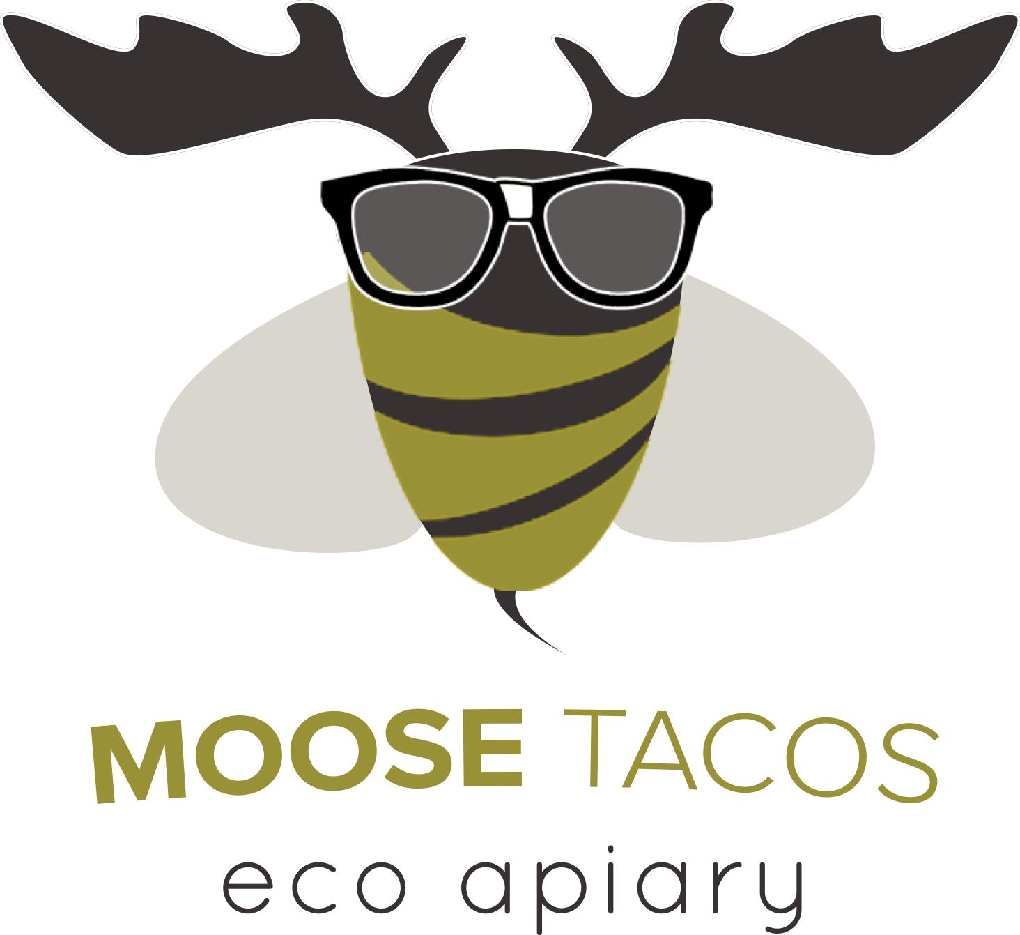 Moose Tacos Eco Apiary Logo