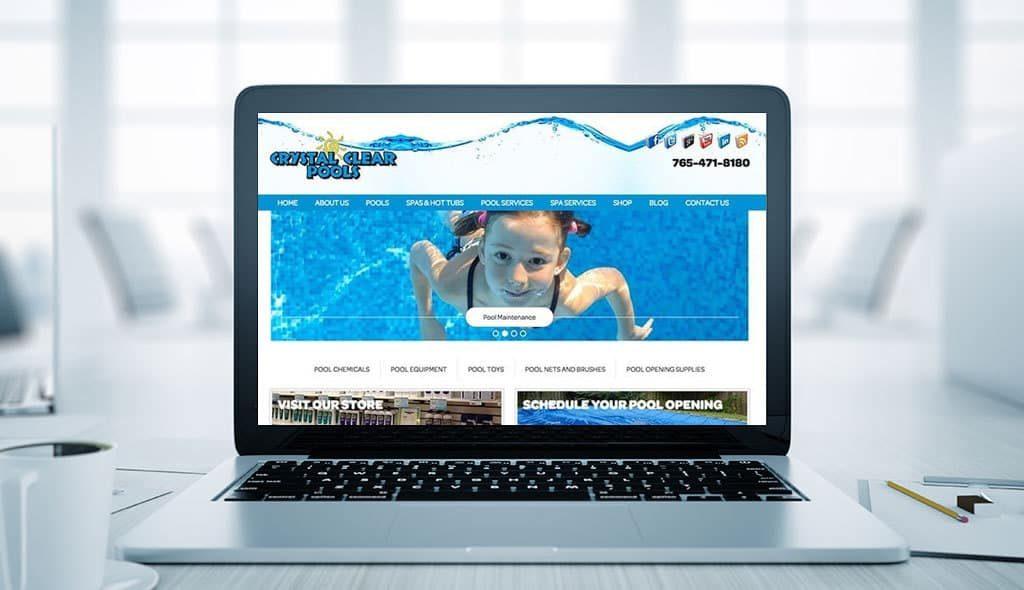 Pool Website Design