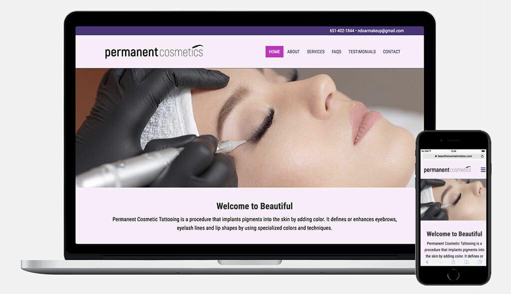 Permanent Cosmetics Website