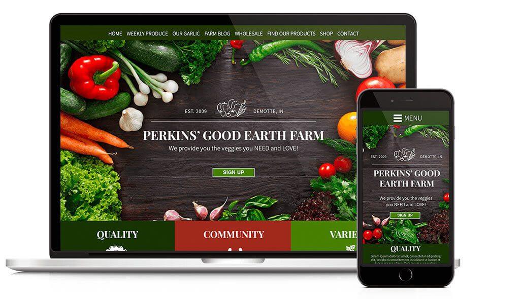 Perkins Good Earth Farm