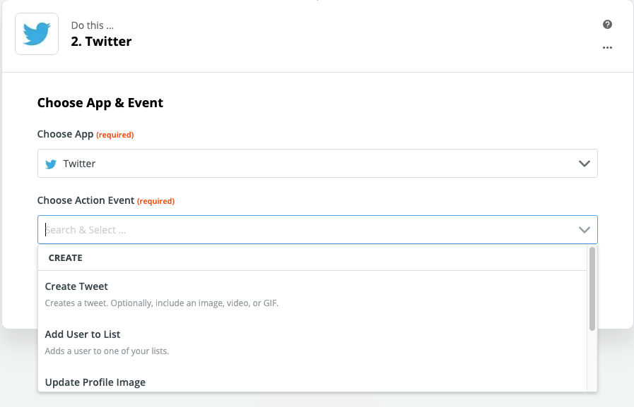 Connecting WordPress to Twitter with Zapier