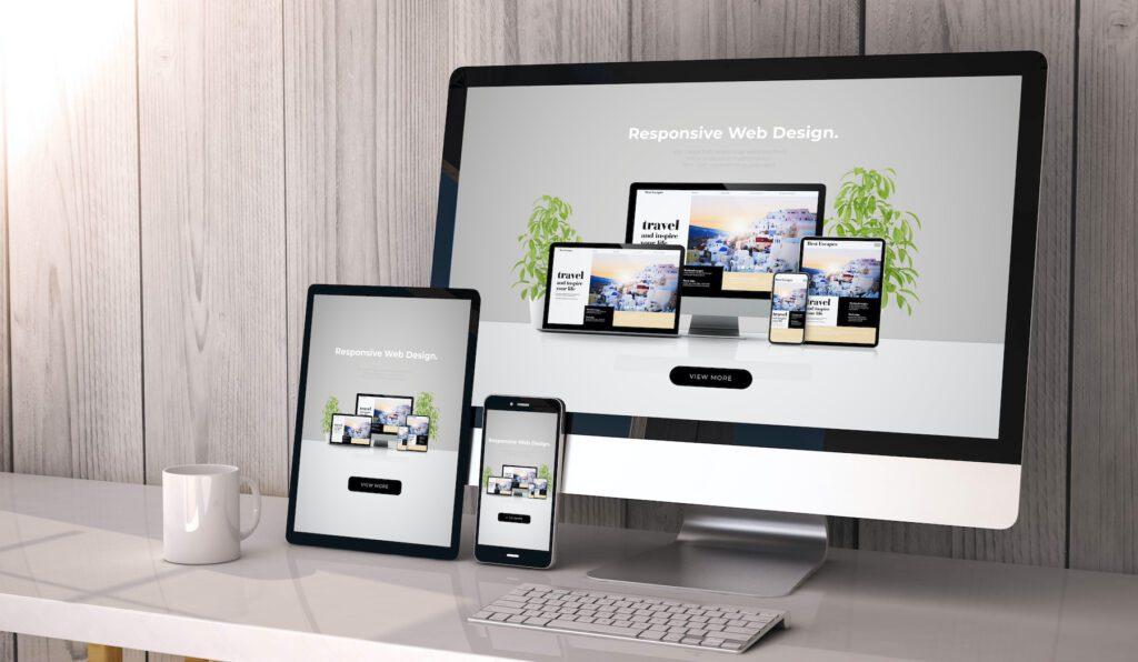 custom website example