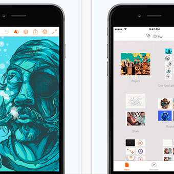 Illustrator Draw App