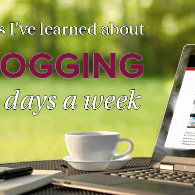 Things I've learned about bloggin