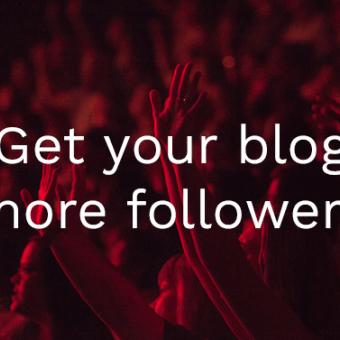 get more blog followers