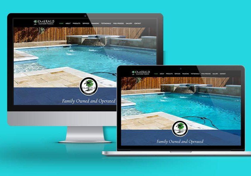 Emerald Custom Pools. Illiana Backyard Pools Website