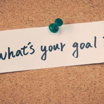 What's your goal?