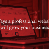 ways a professional website will grow your business