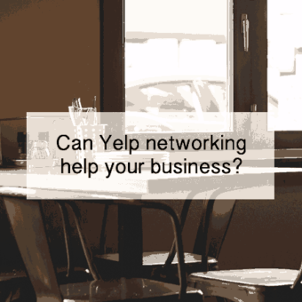 can yelp networking help?